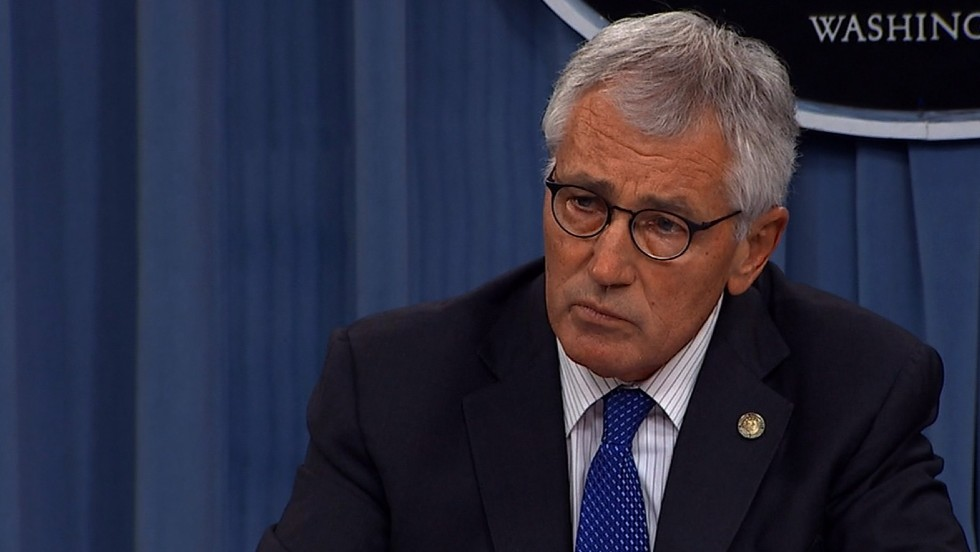 Hagel wrote memo to White House criticizing Syria strategy