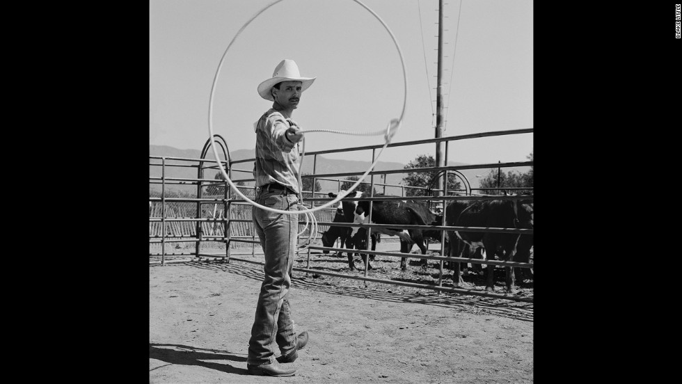 "Scott Terry practices before competing in a calf roping event. Terry is the author of the 2012 memoir ""Cowboys, Armageddon, and The Truth: How a Gay Child Was Saved from Religion."""