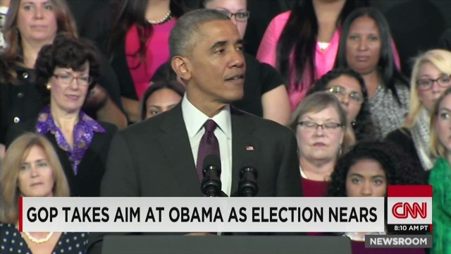 Dems shun Obama on campaign trail