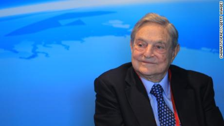 Explosive device found near George Soros' home