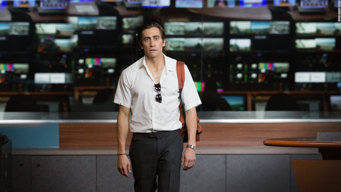 "Dan Gilroy won best screenplay for ""Nightcrawler."""