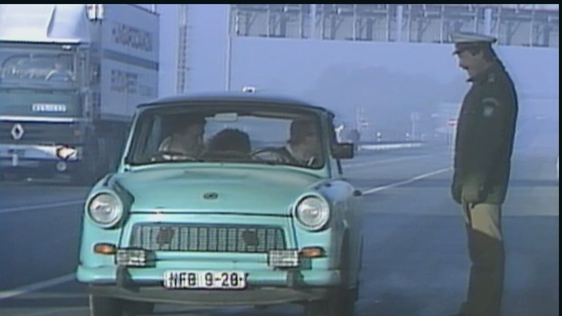 The Trabant was produced in East Germany from 1957 to 1990 -- but some footballers in the country at that time were paid enough to be able to afford more luxurious modes of travel.