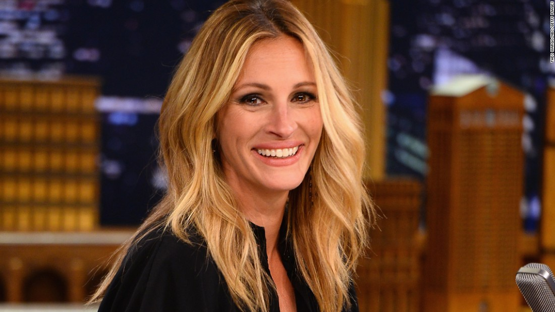 Actress Julia Roberts is a left-hander.