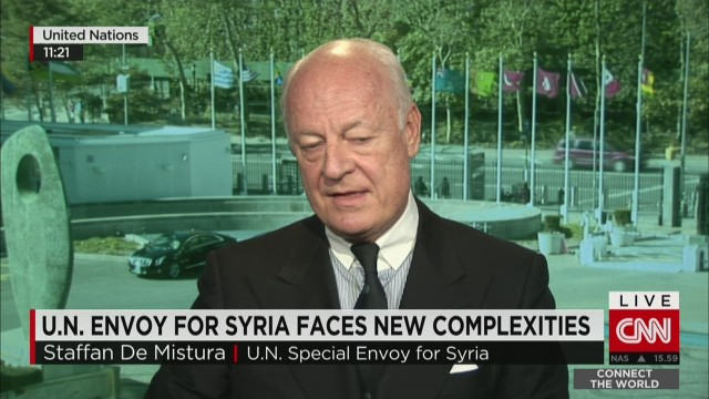 U.N. envoy to Syria: ISIS is stoppable