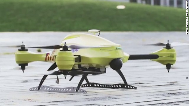 This drone could save your life