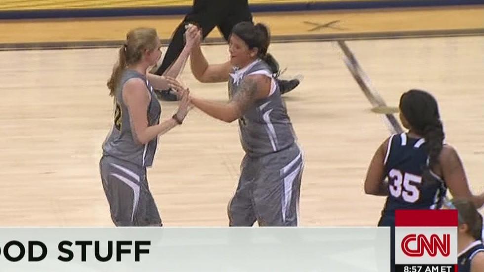 Cancer patient lives basketball dream - CNN Video