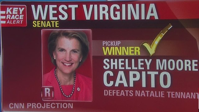 GOP nabs first Senate pickup in W. Va.