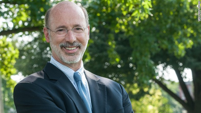 Tom Wolf, (D) Pennsylvania, candidate for governor in 2014. Official portrait obtained from Tom Wolf campaign office