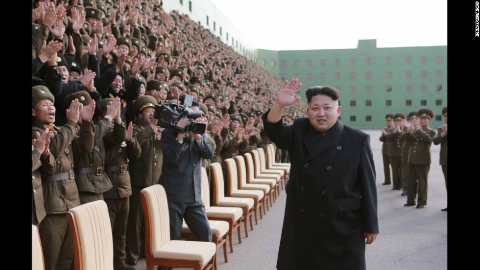 "A picture released by the North Korean Central News Agency shows North Korean leader Kim Jong Un appearing without his cane at an event with military commanders in Pyongyang on Tuesday, November 4. Kim, who recently disappeared from public view for about six weeks, <a href=""http://www.cnn.com/2014/10/28/world/asia/kim-jong-un-cyst/index.html"">had a cyst removed</a> from his right ankle, a lawmaker told CNN."