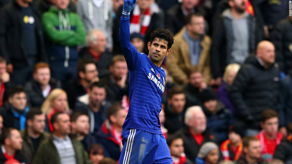 Costa was an integral part of the Chelsea side which won the Premier League title. He finished third in the list of top scorers behind Manchester City's Sergio Aguero and Tottenham's Harry Kane.