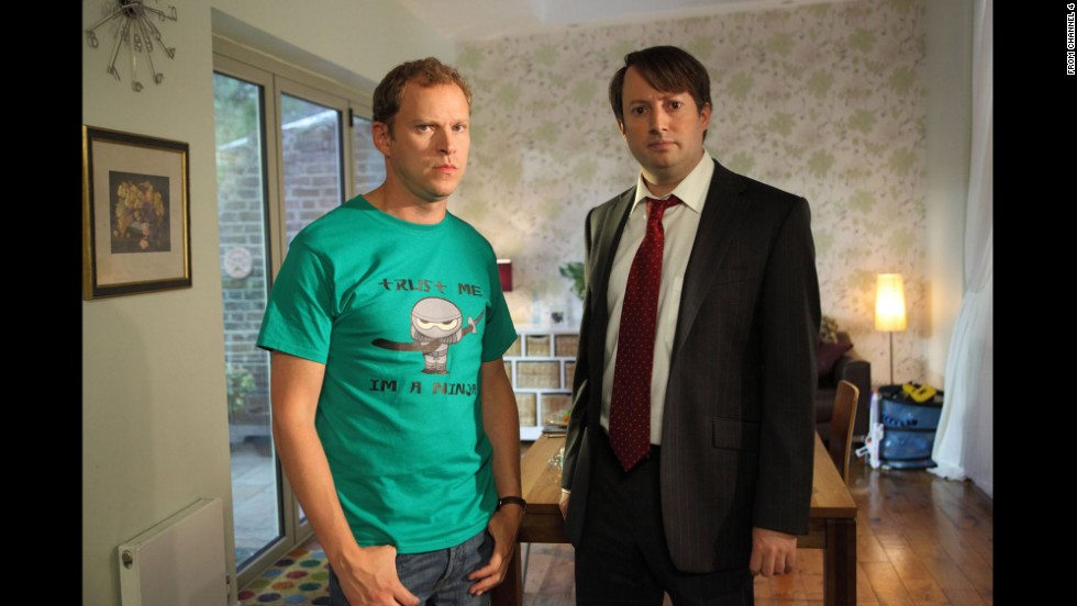 "With only six episodes to a season, British sitcom ""<a href=""http://www.channel4.com/programmes/peep-show"" target=""_blank"">Peep Show</a>"" was a popular choice among Redditors for being ""easy to knock out a few in the afternoon,"" and hilarious to boot. Anyone new to the mundane world of South London roommates Mark Corrigan (David Mitchell) and Jeremy ""Jez"" Usborne (Robert Webb) will have plenty of hours of inner monologues and point-of-view shots to wade through. The show debuted in 2003 and is now in its ninth season."