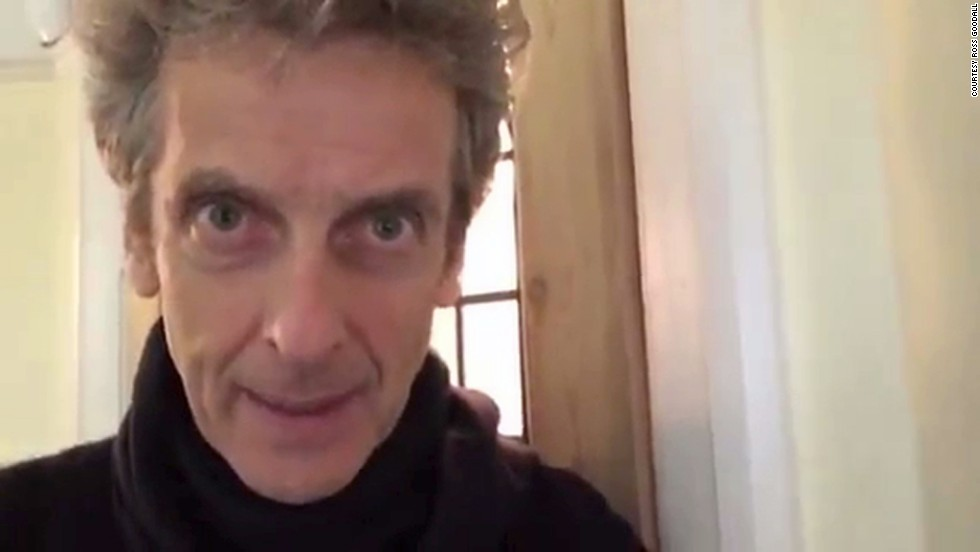"Peter Capaldi, who plays the 12th incarnation of Doctor Who, sent a video message to a 9-year-old fan grieving the loss of his grandmother. ""You should know that we're on your side. So you look after yourself, take care and be happy."""