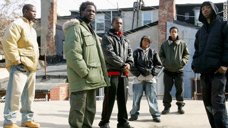 "Characters from the HBO series, ""The Wire""."
