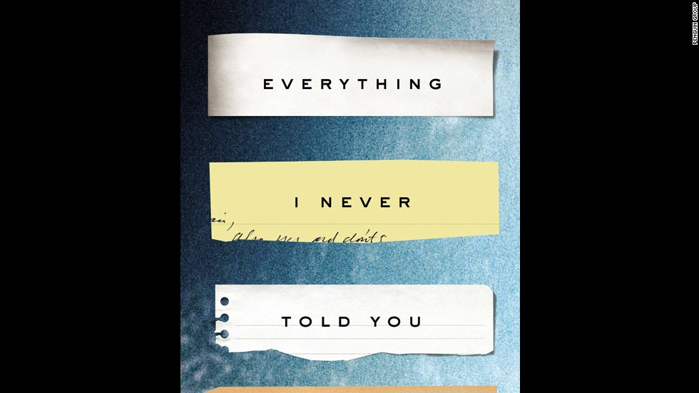"Celeste Ng has crafted a winner with her debut novel, ""Everything I Never Told You."" Amazon has picked the literary thriller, which follows the disappearance of a young Chinese-American woman in small-town Ohio circa 1977, as the best book of 2014.  ""If we know this story, we haven't seen it yet in American fiction,"" The New York Times Book Review praised this summer. ""Not until now."""