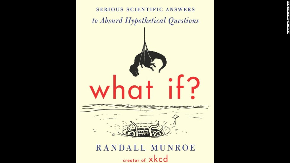 "Whether the subject is meteor showers, snake facts or overthinking a Valentine's Day gift, there is precious little that Randall Munroe's <a href=""http://xkcd.com/"" target=""_blank"">""xkcd"" webcomic</a> can't wittily illustrate. With ""What If?"" Munroe's insight and skill moves to the page as he tackles new questions with his trademark sense of humor. The result, says Amazon's Jon Foro, is ""the rare combination of edifying and fun."""