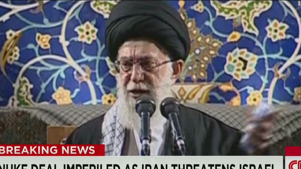 Iran leader's call to 'annihilate' Israel sparks fury as nuclear deadline looms