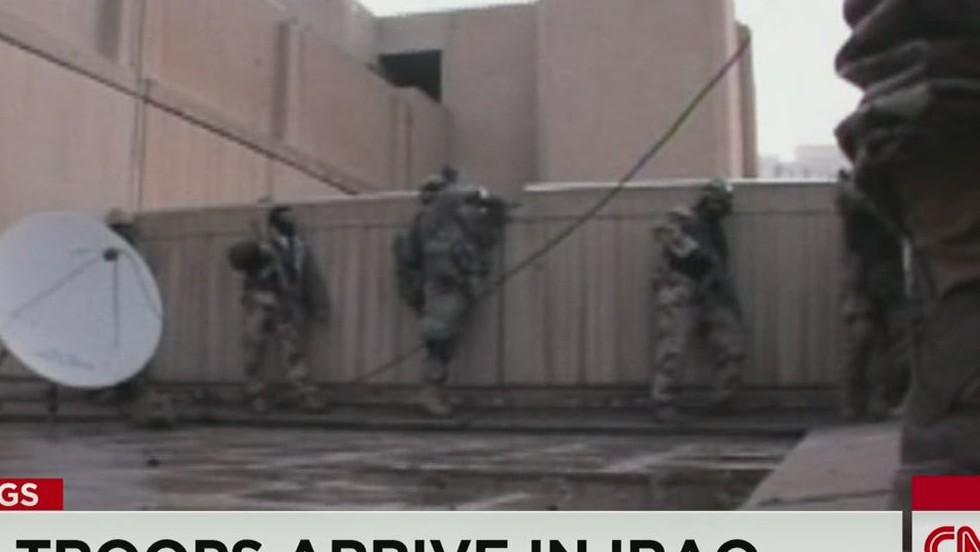 U.S. troops arrive in Iraq - CNN Video