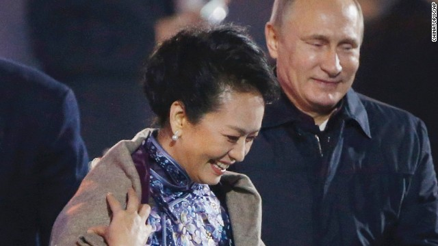 Putin puts move on China's First Lady