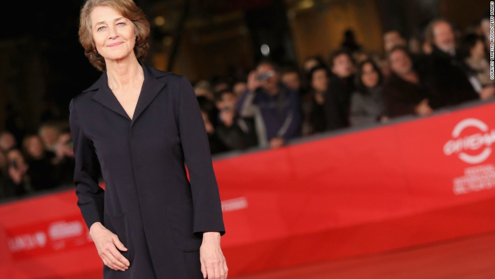 British actress Charlotte Rampling OBE was signed to Nars in August 2014 for their Audacious Lipstick Collection. The 69-year-old has also covered Vogue magazine.