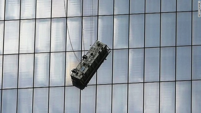 Workers Rescued Hanging From 68th Floor Cnn Video