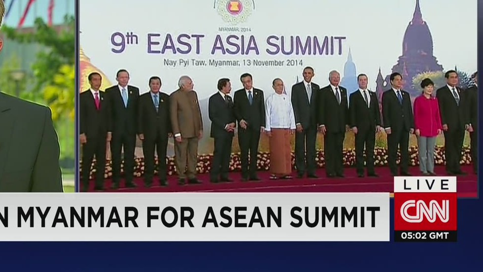 Obama in Myanmar for ASEAN summit