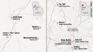 Walking Dead tours Zombie sites in Atlanta rural Georgia  CNN