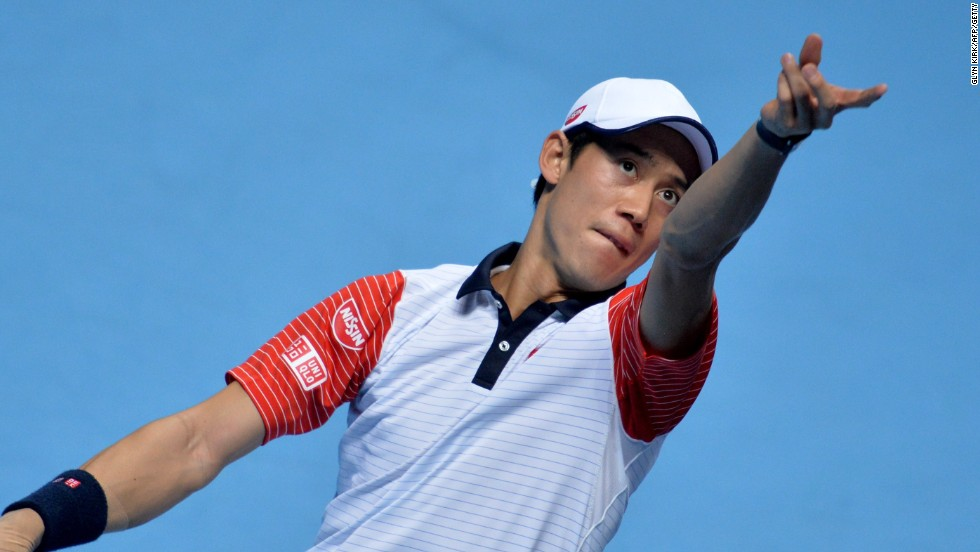 Nishikori made it to the semifinals of the season-ending   ATP World Tour Finals in 2014, and reached a career-high fourth in the rankings the following March.
