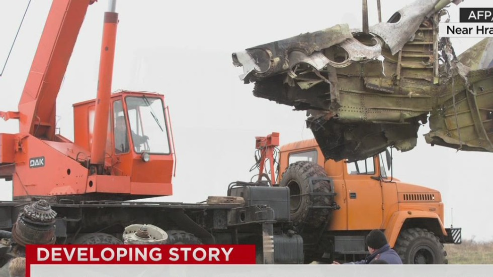 Recovering the wreckage of MH17 - CNN Video
