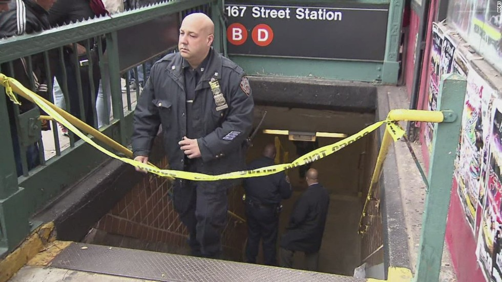 Man pushed to death in New York City subway station