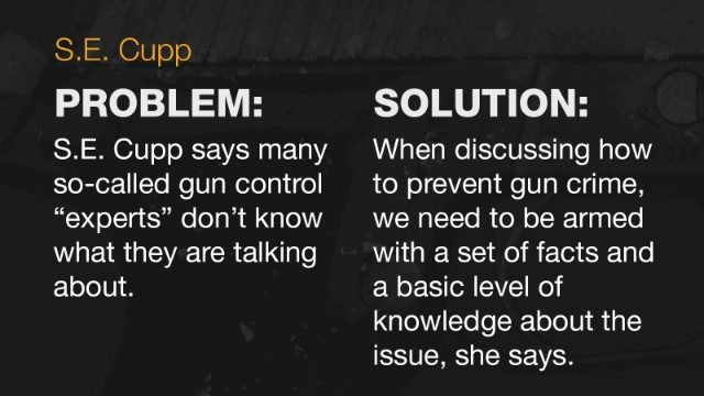 Cupp: On guns, let's focus on facts, not fear
