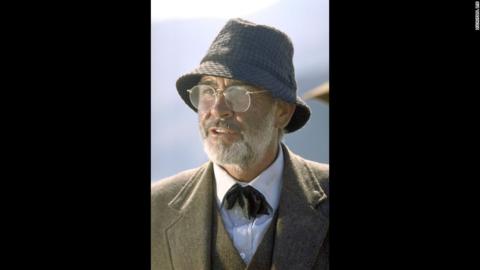 "He may have been almost 60 in 1989, but that didn't stop People from finding ""Indiana Jones and the Last Crusade"" co-star Sean Connery sexy."