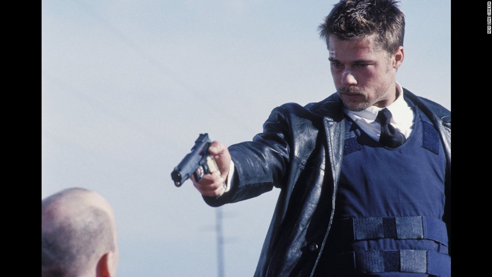 "Brad Pitt got gritty in 1995 in the psychological thriller ""Se7en,"" but it was his good looks that landed him the sexiest man cover that year. Good thing, too, as fans were thirsting given that there was no selection in 1994."