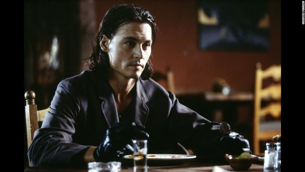 "Johnny Depp starred in ""Once Upon a Time in Mexico"" in 2003 and on the cover of People's sexiest man issue."