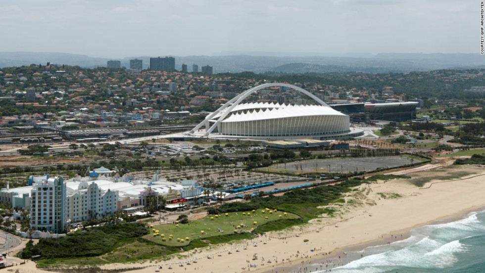 """The mayor asked us for something that would 'put Durban on the map,'"" said Neinhoff."