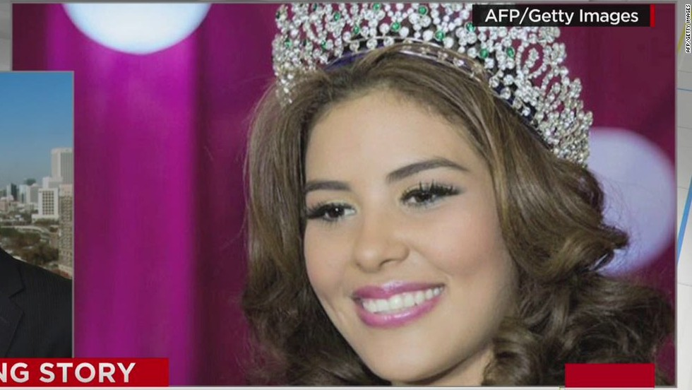 Honduran beauty queen missing days before pageant
