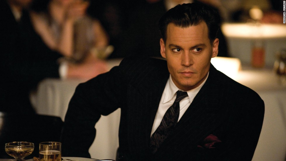 "Johnny Depp (seen here in ""Public Enemies"") was a suave choice in 2009. It was his second time on the list."