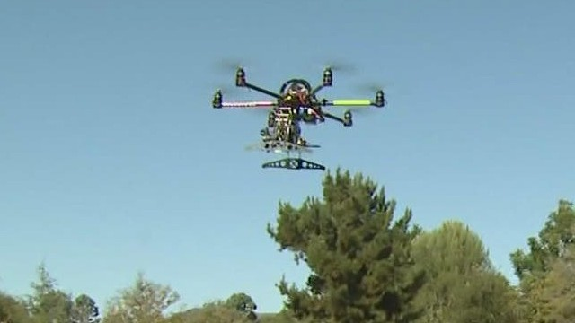 How close can a drone fly to your plane?