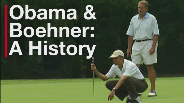 Obama and Boehner: A History