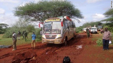 Muslims shield Christians during bus attack in Kenya