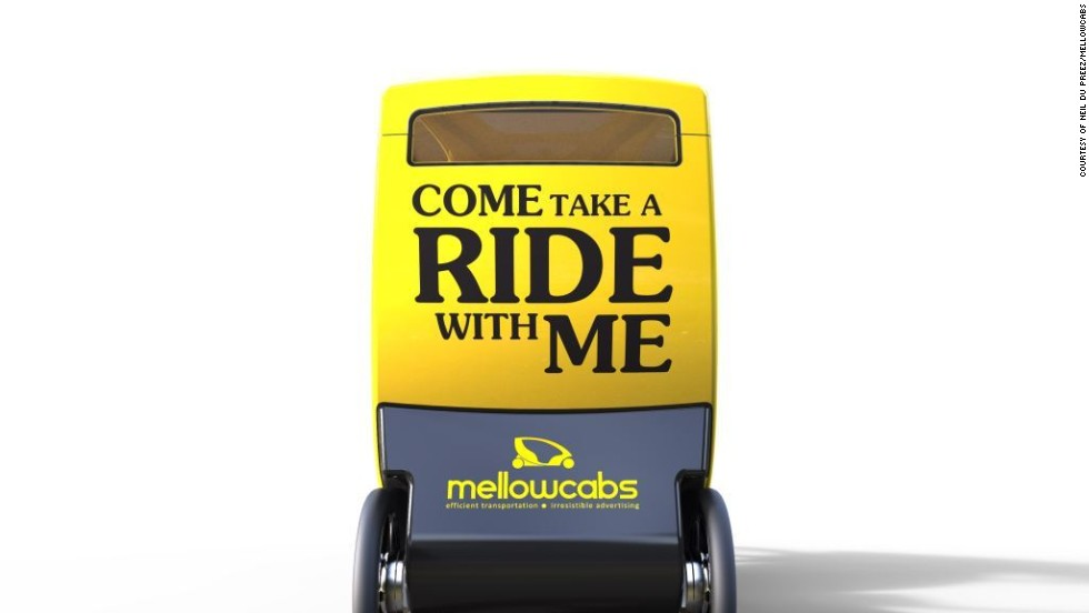 The Mellowcab business aims to earn revenue from advertisers who can put their logo on the vehicle. As well as this, an iPad will be in the passenger area, and companies can pay to have their brand displayed in a digital format.