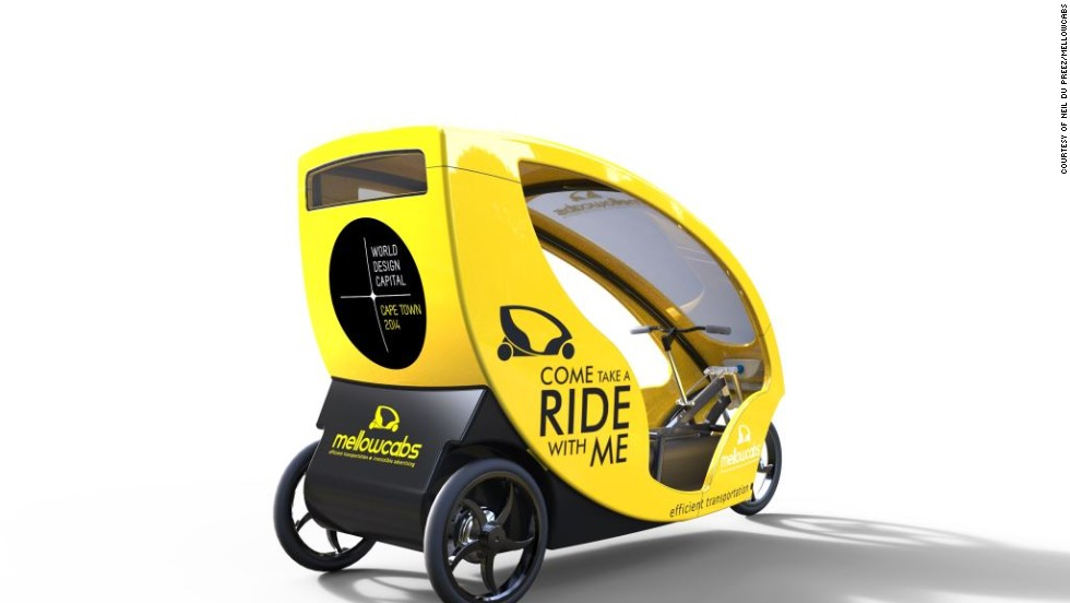 Du Preez says he is aiming for the vehicles to be on South African roads in the first quarter of 2015. As well as his native South Africa, du Preez plans to bring Mellowcabs to Nigeria and U.S.A