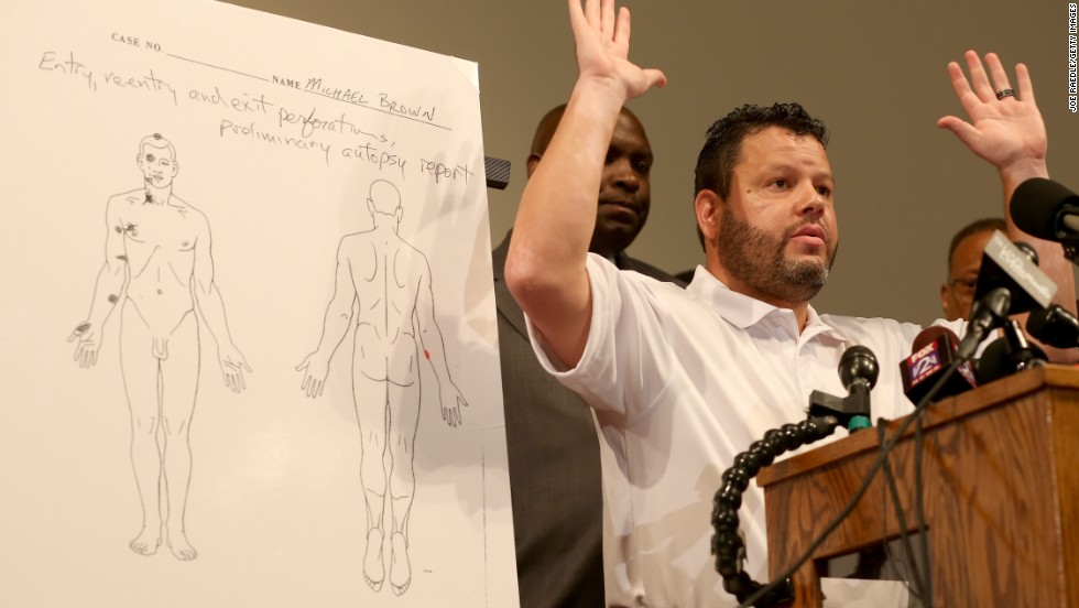 Is 'professor' who helped with Michael Brown autopsy who he says he is?