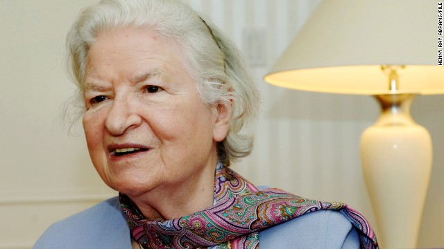 P.D. James created detective Adam Dalgliesh, a celebrated English sleuth.