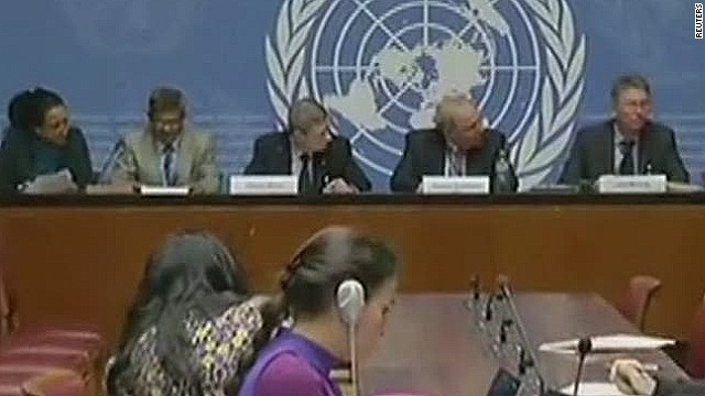 U.N. committee weighs in on Ferguson