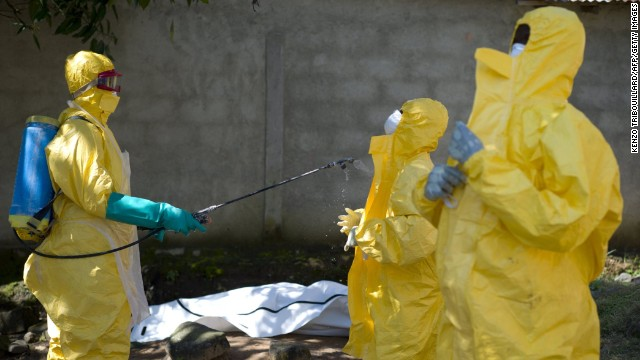 W.H.O. reports progress fighting Ebola