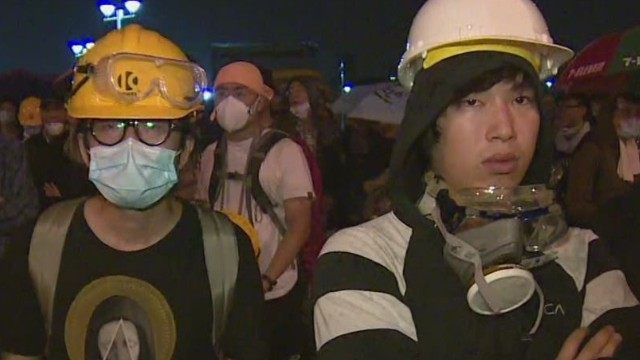 Hong Kong protestors continue to fight
