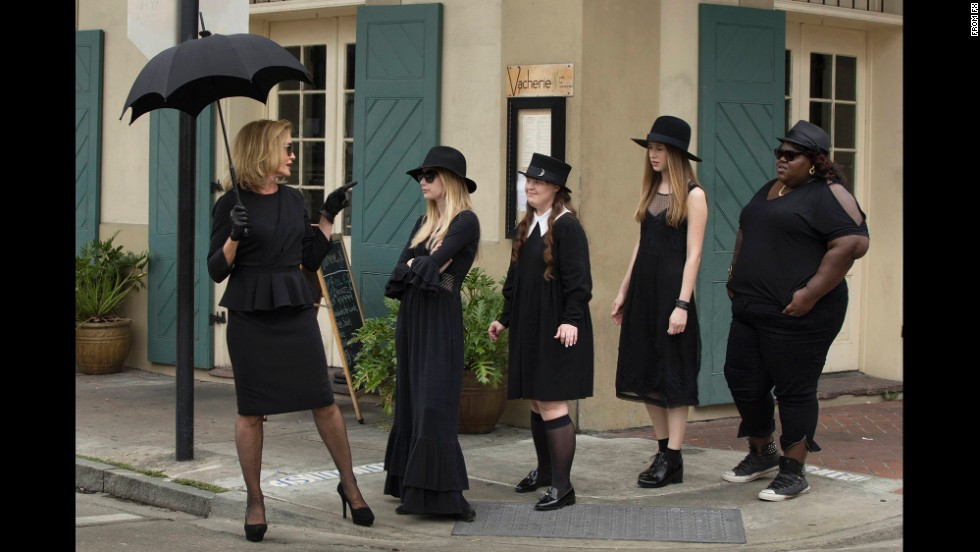 "<strong>""American Horror Story: Coven""</strong>: The witchy good times roll in this New Orleans-set season of Ryan Murphy's ""American Horror Story."" <strong>(Netflix)</strong>"