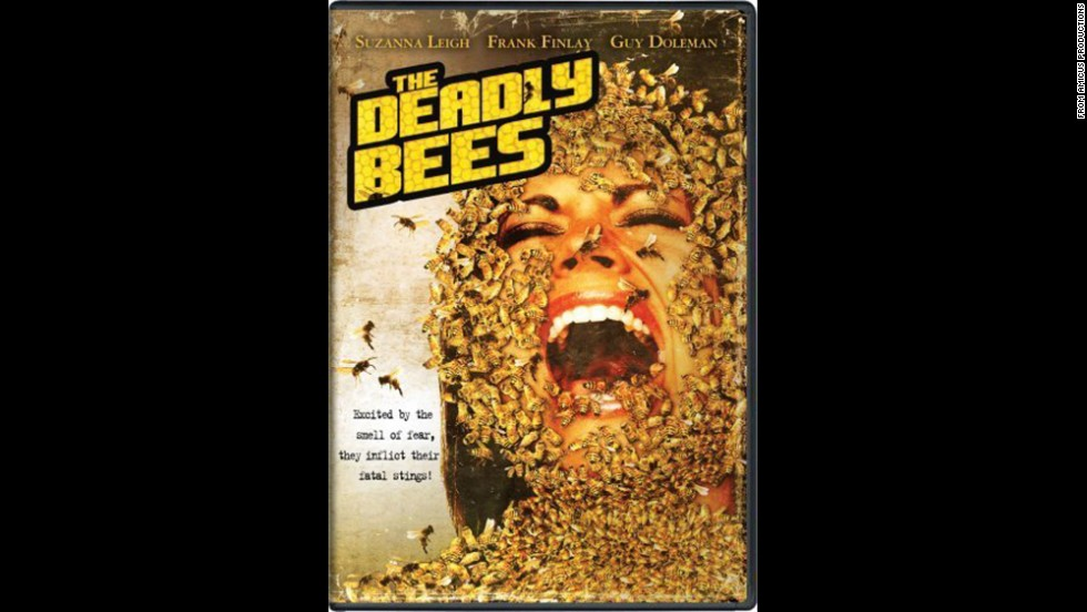 "<strong>""The Deadly Bees"" (1966)<strong></strong>:</strong>  A pop singer battles deadly bees in this campy horror film. <strong>(Amazon) </strong>"