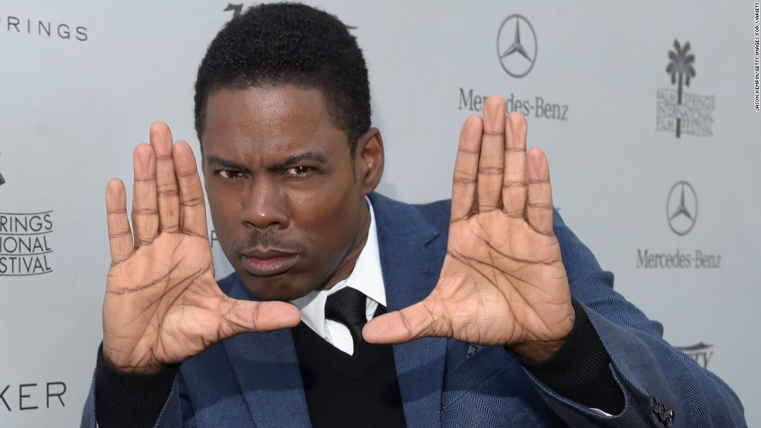 Funnyman Chris Rock passed the half-century mark on February 7.