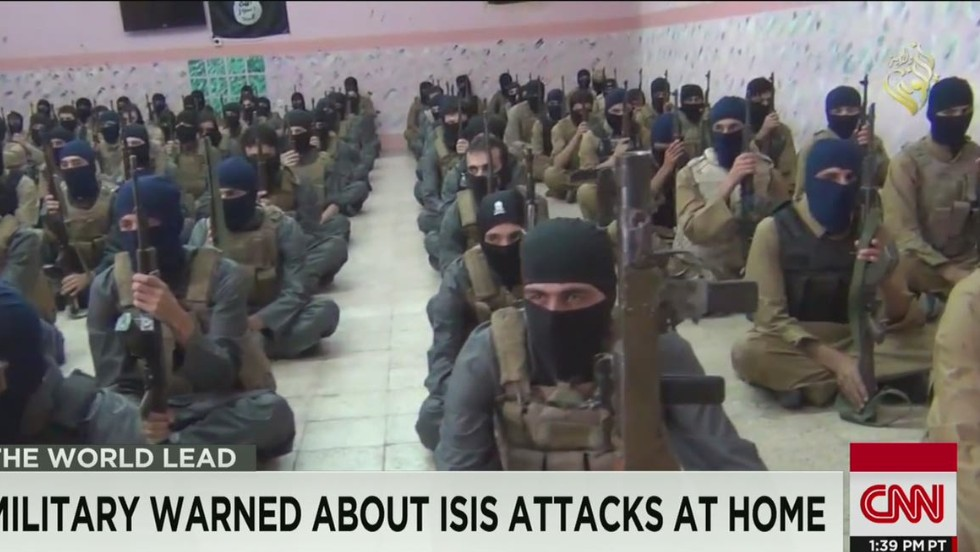 FBI warns military of ISIS threat